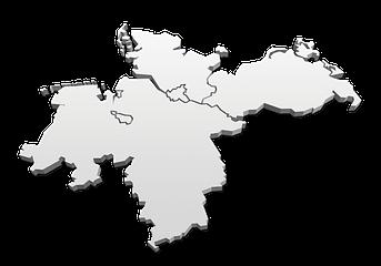 Acht GmbH Karte Norddeutschland